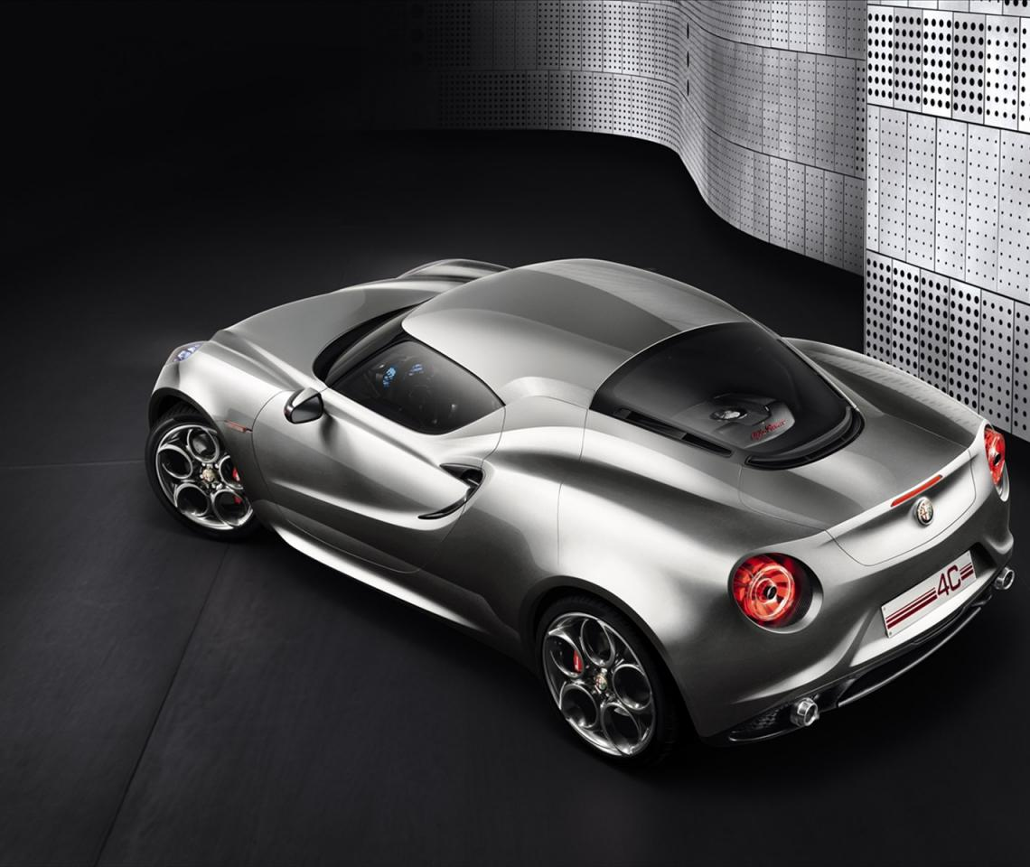 Free Download Wallpaper HD : Alfa Romeo 4C Concept