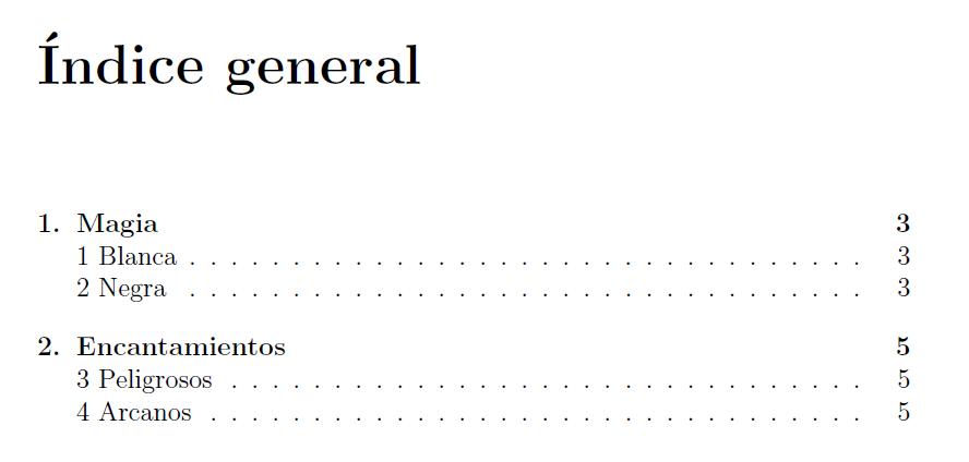 Aprendiendo LaTeX: Cómo editar la numeración de las secciones