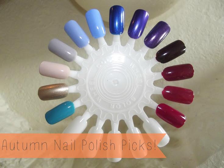 Autumn Nail Polish Picks!