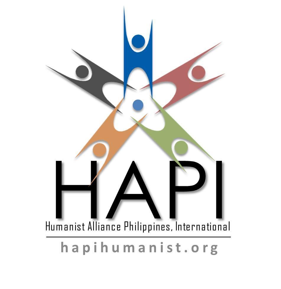 The Hapi Logo Humanist Alliance Philippines International