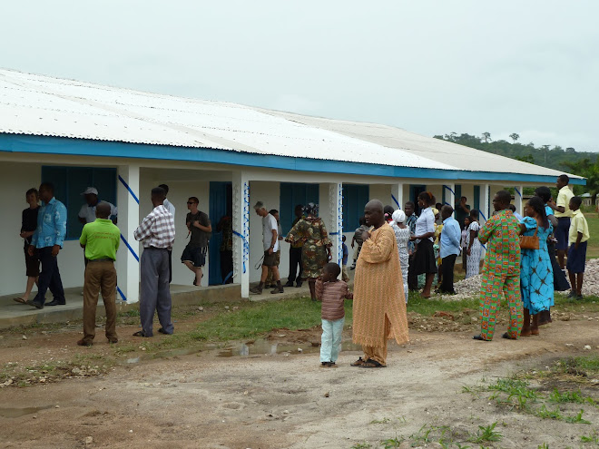 New classrooms at Village of Hope