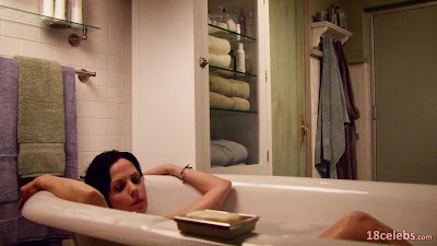 mary-louise parker laying fully nude naked in bath tub