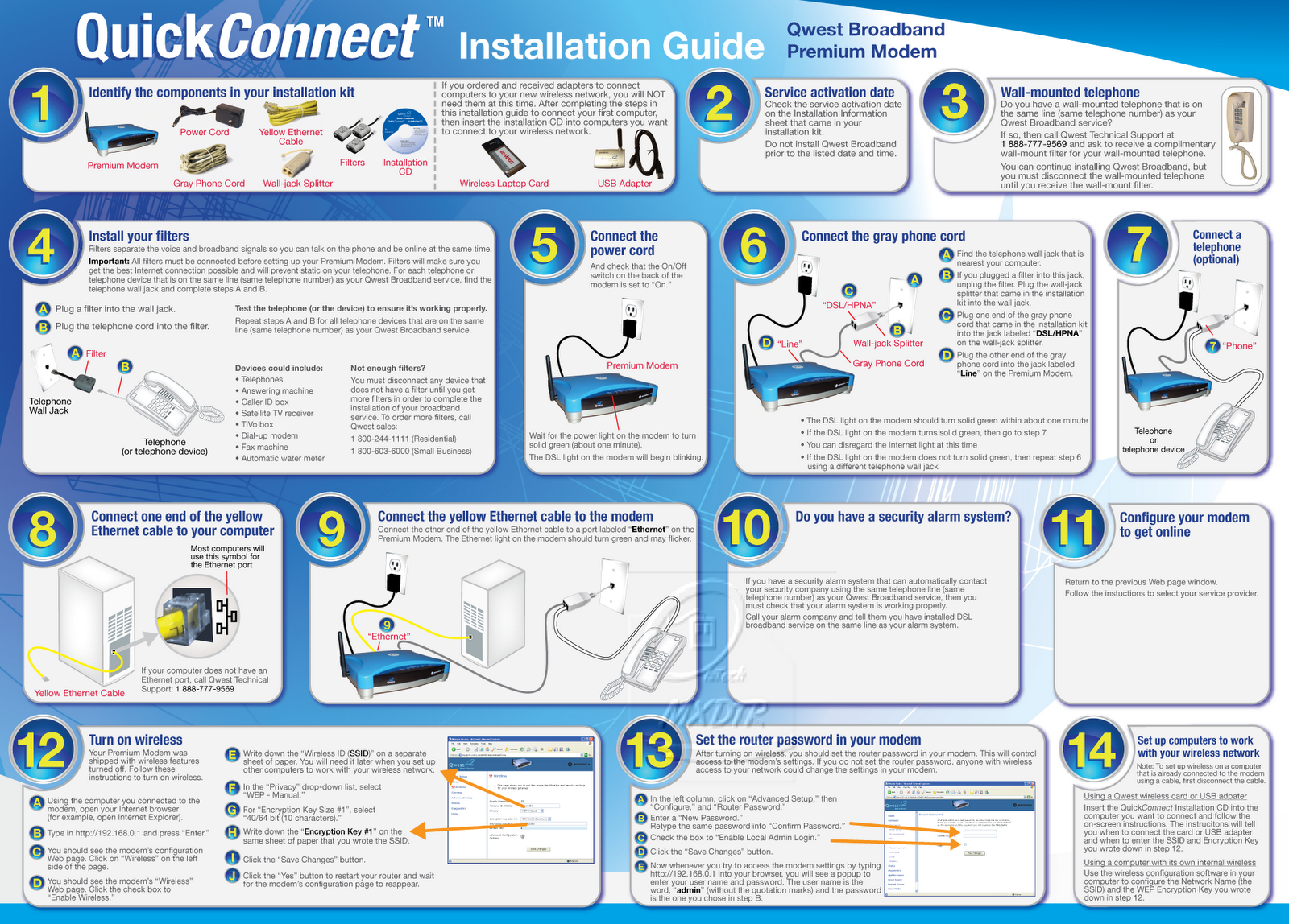 a guide to properly install a modem You're ready to install the modem and needs a broadband filter connected to work properly with your modem vodafone b3000 wireless modem guide.