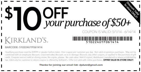 Kirkland Coupons