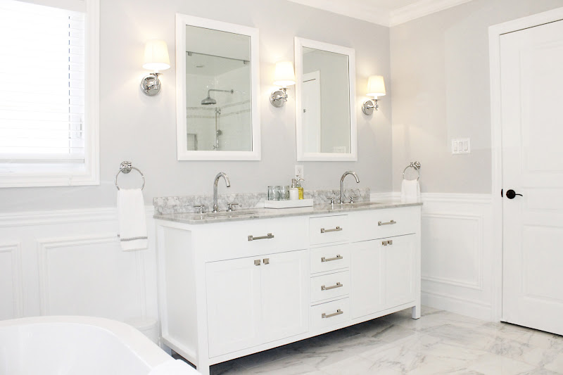bathroom vanity, choosing glass material to furnish your bathroom title=