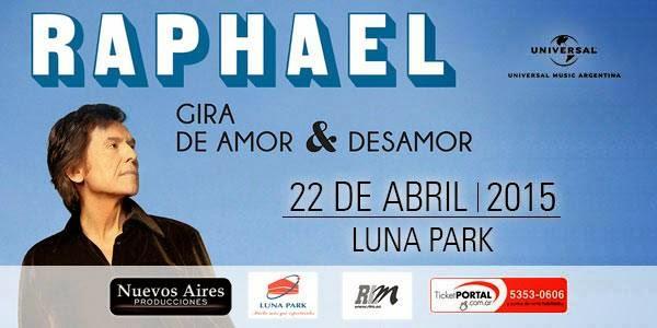 Raphael en Argentina 2015