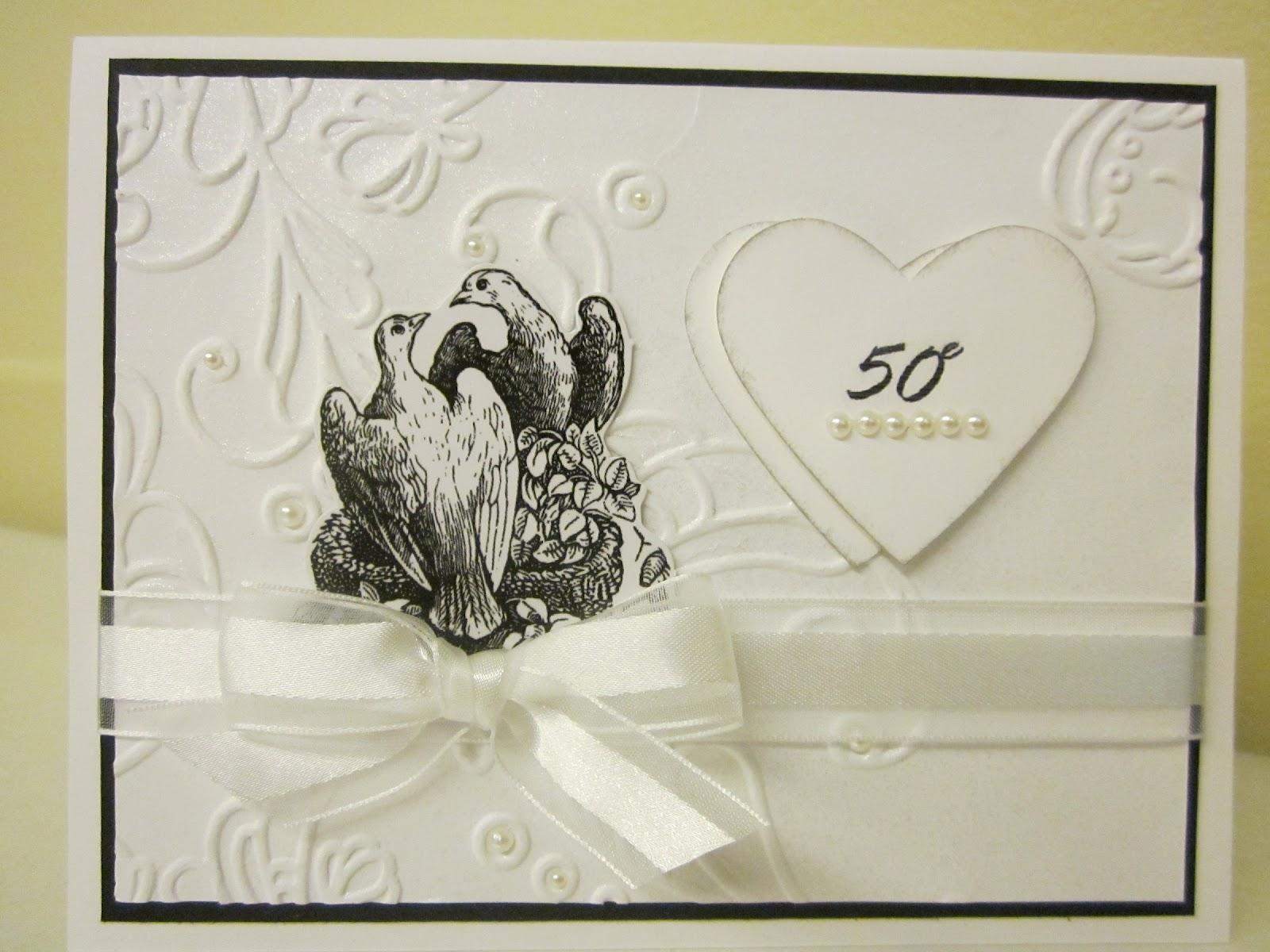 Bricole anne 50e anniversaire de mariage for 50e anniversaire de mariage