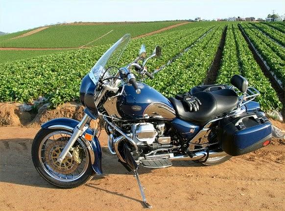 Moto Guzzi California Ev Touring Motorcycels Engine