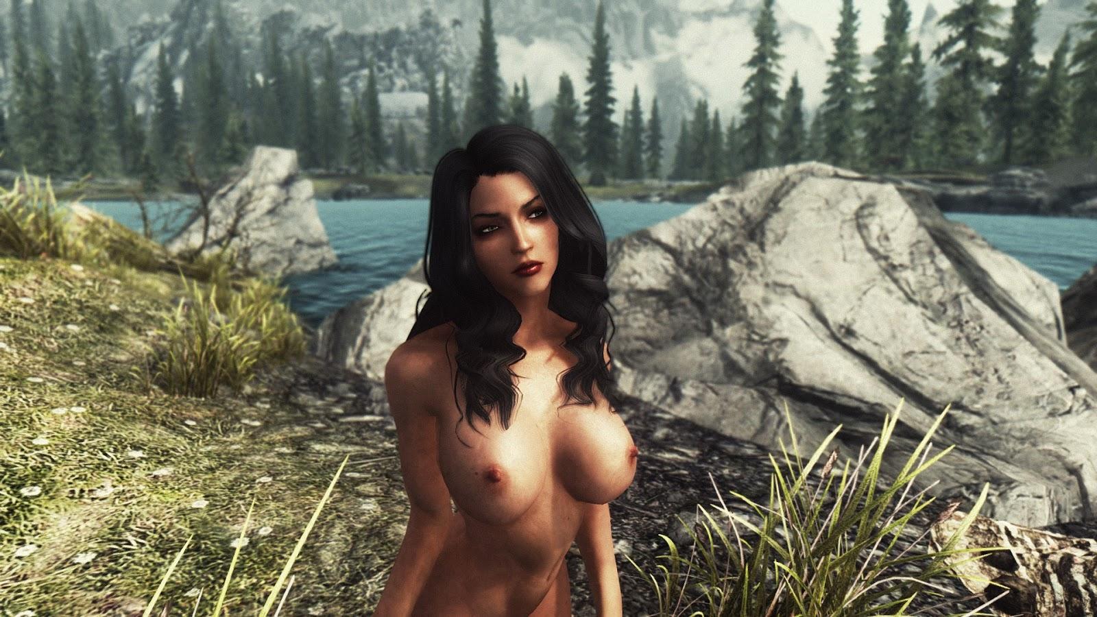 Skyrim naked mod pics nude videos