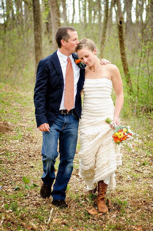 Shenandoah Valley Wedding near Grottoes