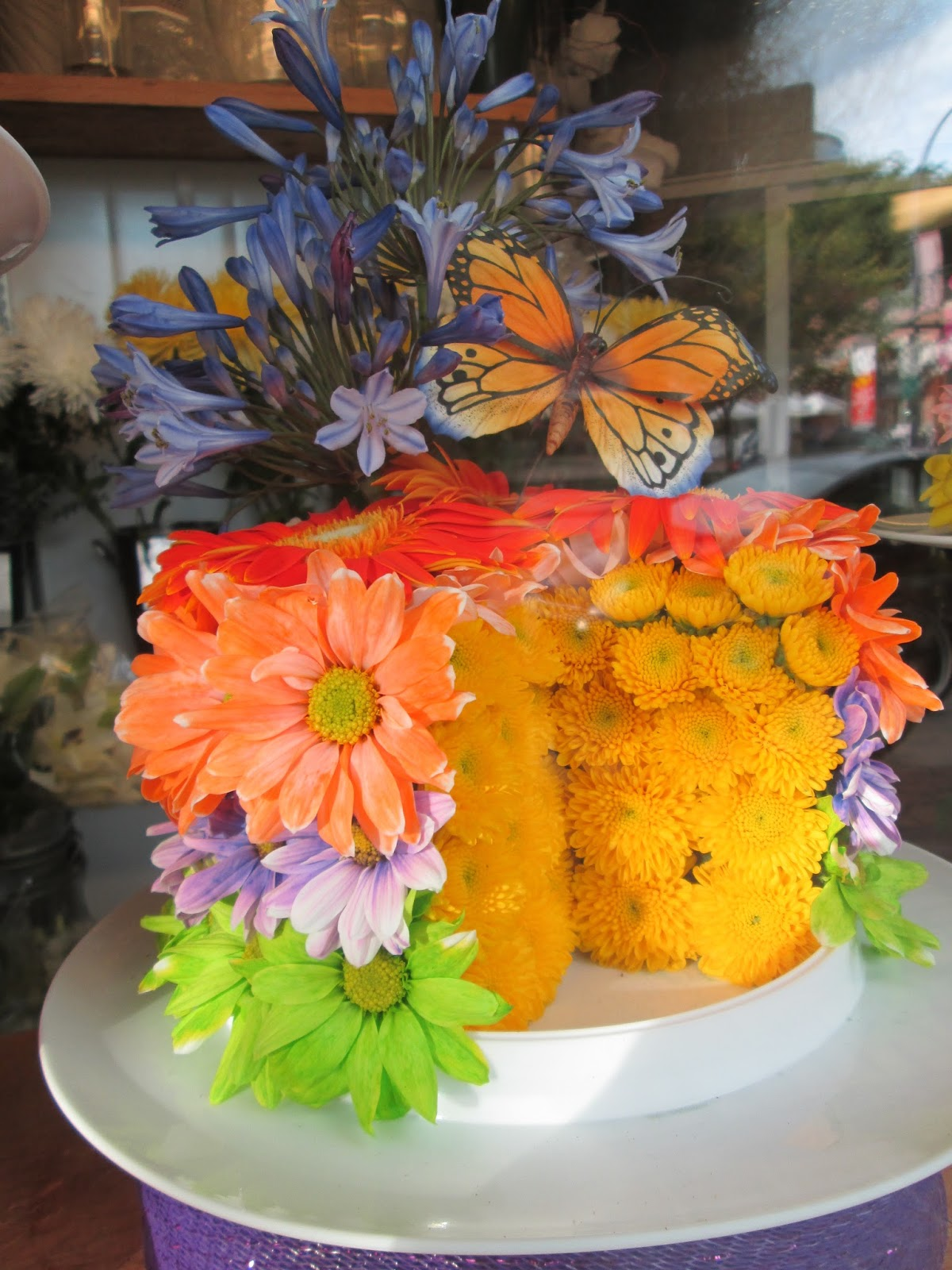 Tea with lavera flower bouquet cakes a cake made of flowers a cake bouquets izmirmasajfo