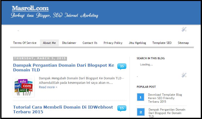 Daftar Blogger Yang Aktif Blogwalking 2015 Versi Masroli.Com