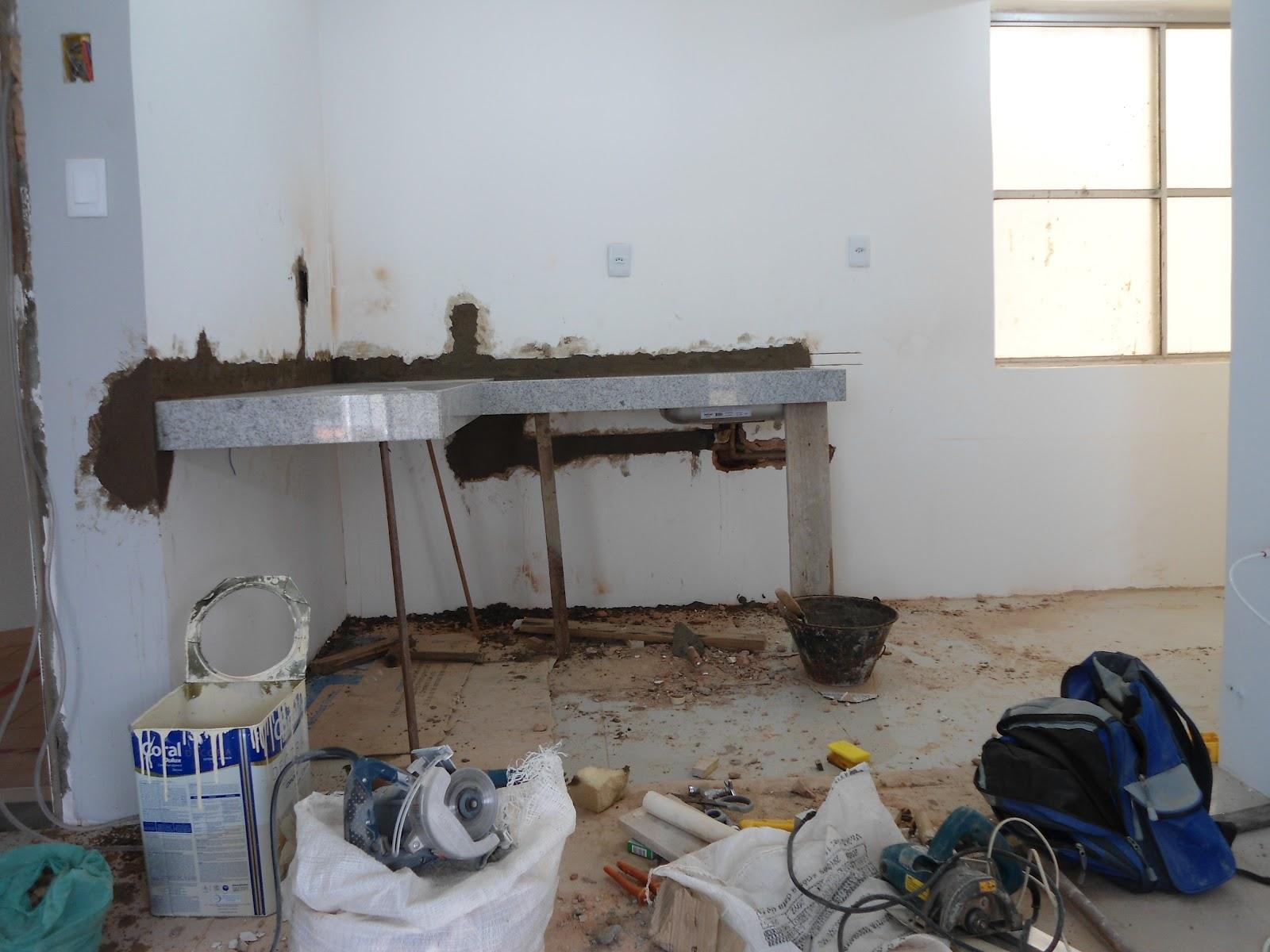 Nosso 1º apê: Minha bancada da cozinha. #2C3B60 1600x1200