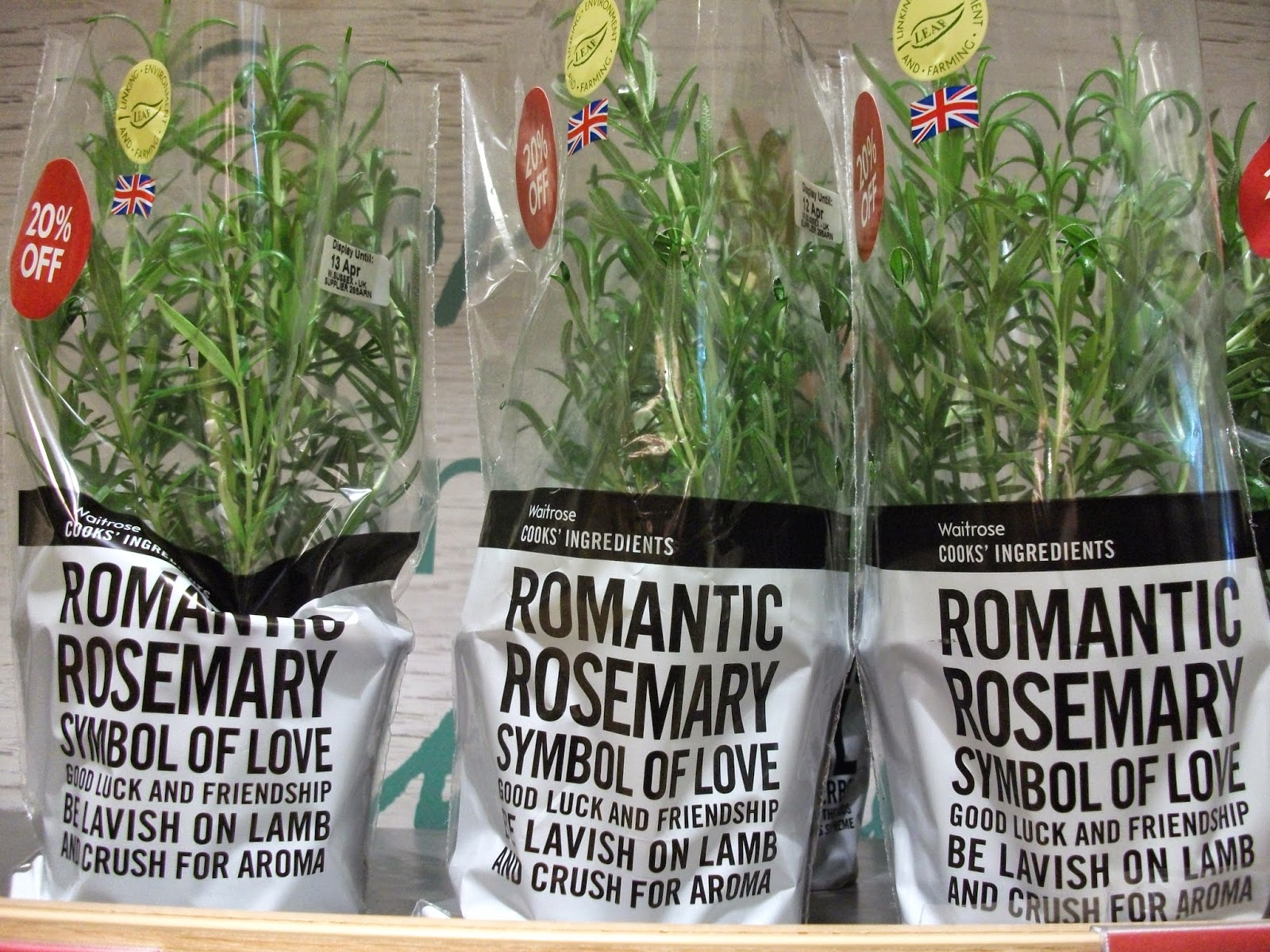 Rosemary for remembrance seeing symbols romantic rosemary symbol of love good luck and friendship be lavish on lamb and crush for aroma waitroses packaging combines symbolic lore with izmirmasajfo