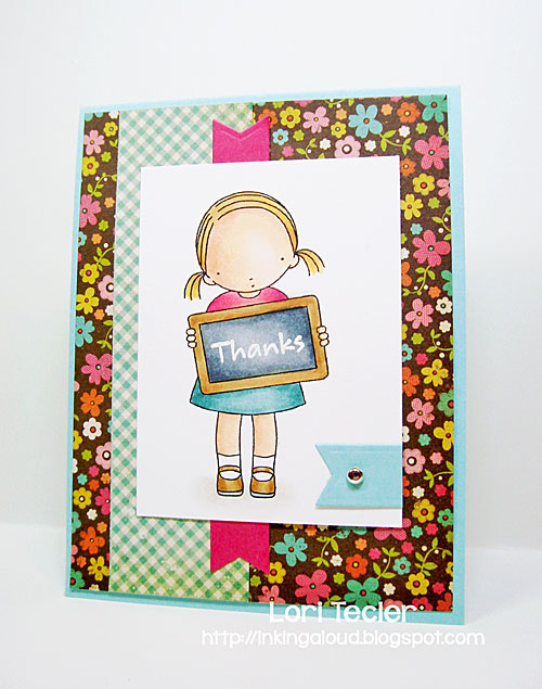 Thanks card-designed by Lori Tecler/Inking Aloud-stamps and dies from My Favorite Things