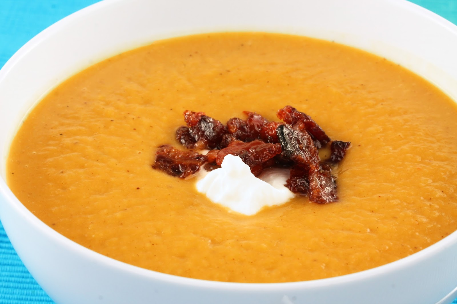 The Stay At Home Chef: Masala- Spiced Butternut Squash Soup with ...