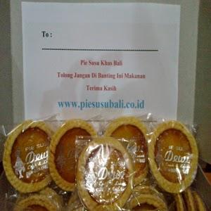 Jual Pie Susu Khas Bali