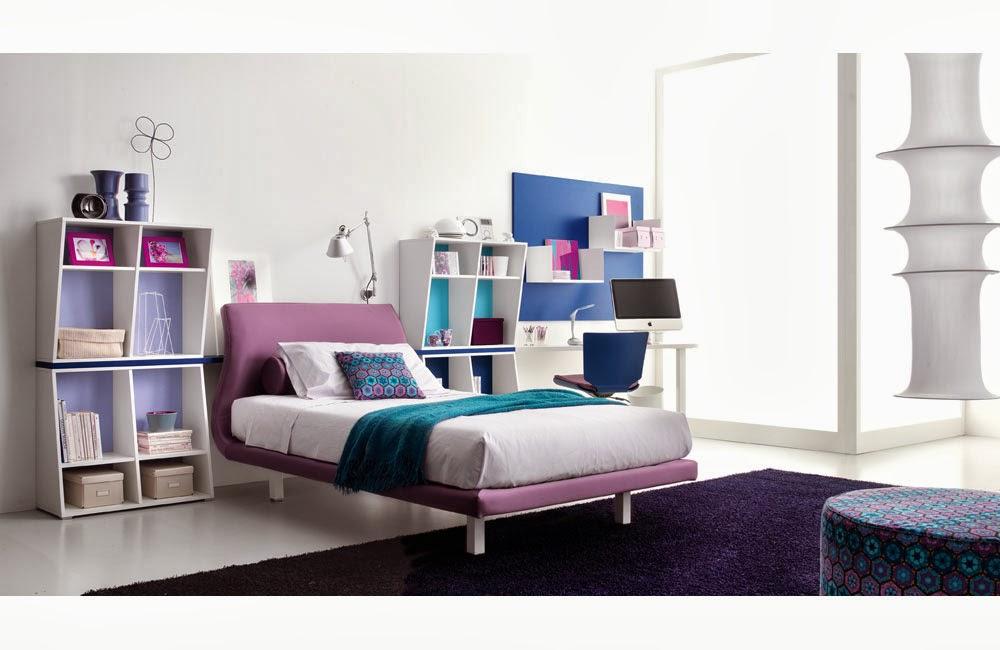 kamar tidur anak remaja majalah rumah