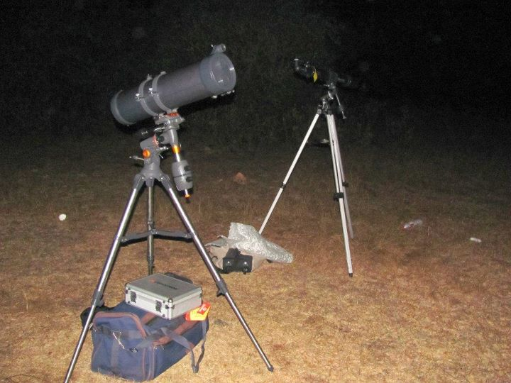 I want to be an astronomer: star party astronomy away from the city.