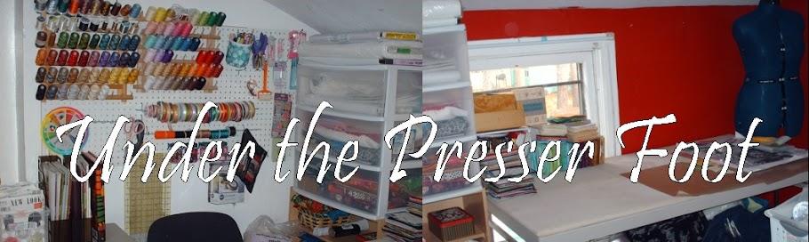 Under The Presser Foot