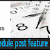 How to apply schedule post feature in WordPress Blog