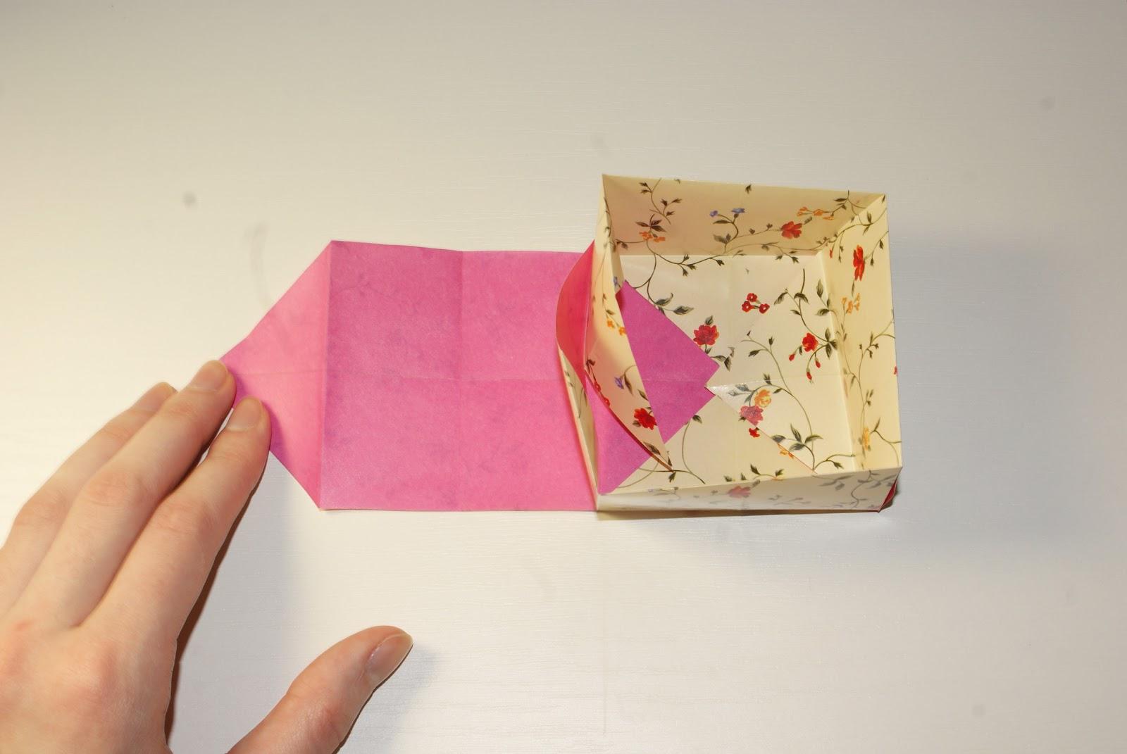 Как сделать своими руками подарочную коробку / KNITLY 26