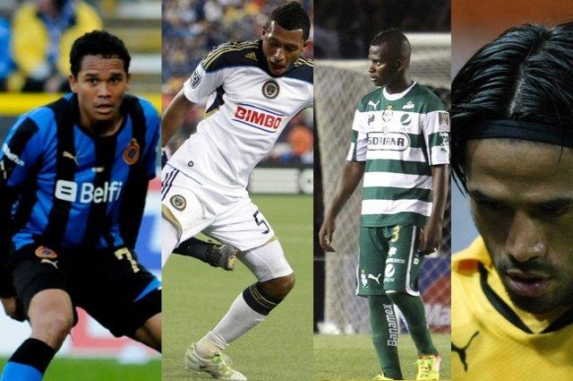 La selección Colombia de talentos 'extraviados'