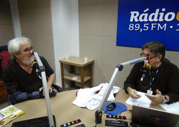 JOGO DO SENTA no Plantão de Notícias da Rádio Globo