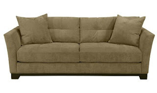 Elliot Sofa Loveseat Chair Ottoman In Tawny Macys