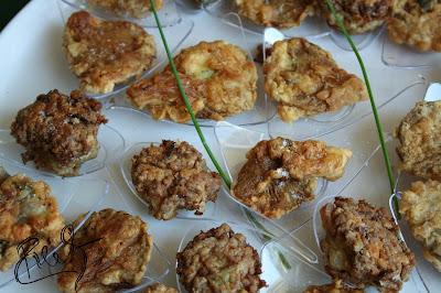 cucinando - funghi impanati e fritti