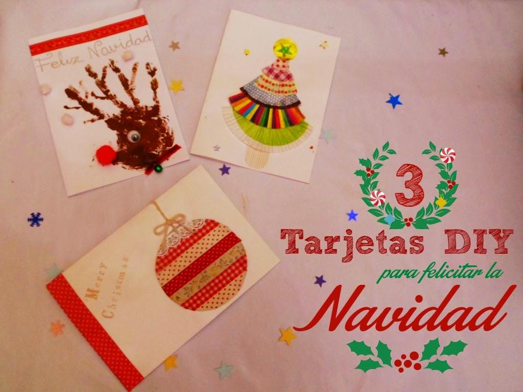 Materiales diy felicitaciones y portadas de navidad for Tarjetas de navidad para ninos pequenos