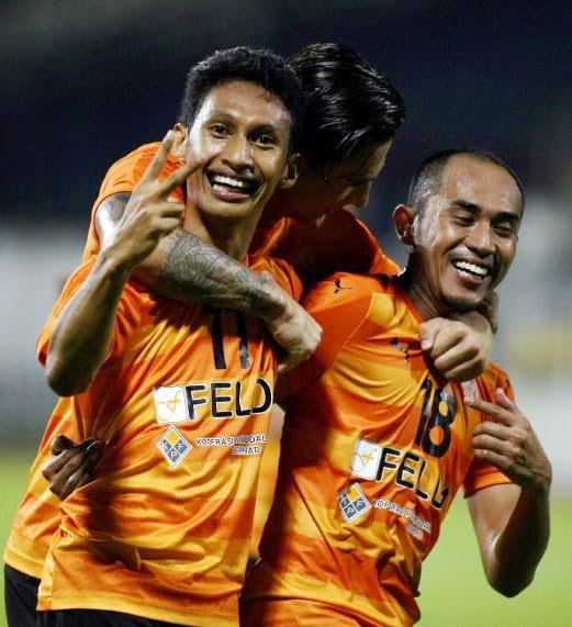 perlawanan Liga Super ketika menentang Angkatan Tentera Malaysia (ATM