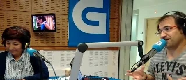 GORKA ZUMETA EN RADIO GALEGA 13-F