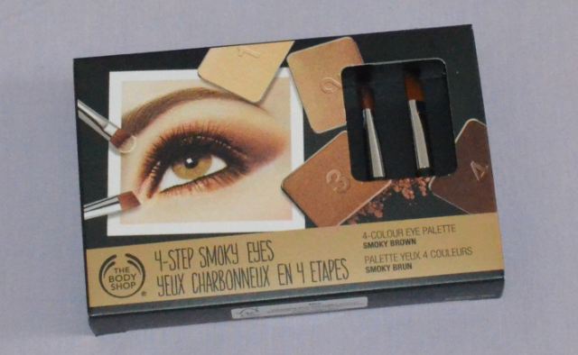 The Body Shop 4 colour eye palette