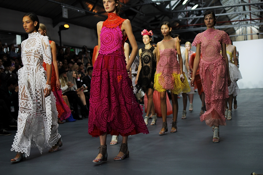 british fashion bora aksu london fashion week ss16