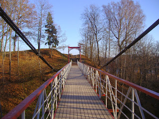 Suspension bridge viljandi
