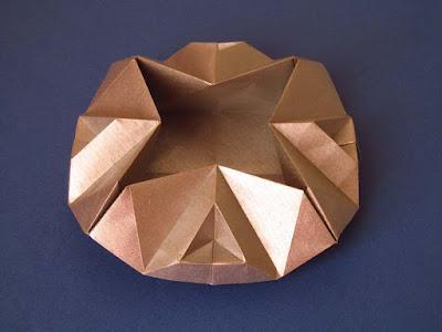 Origami Scatola Sfaccettata - Faceted box by Francesco Guarnieri