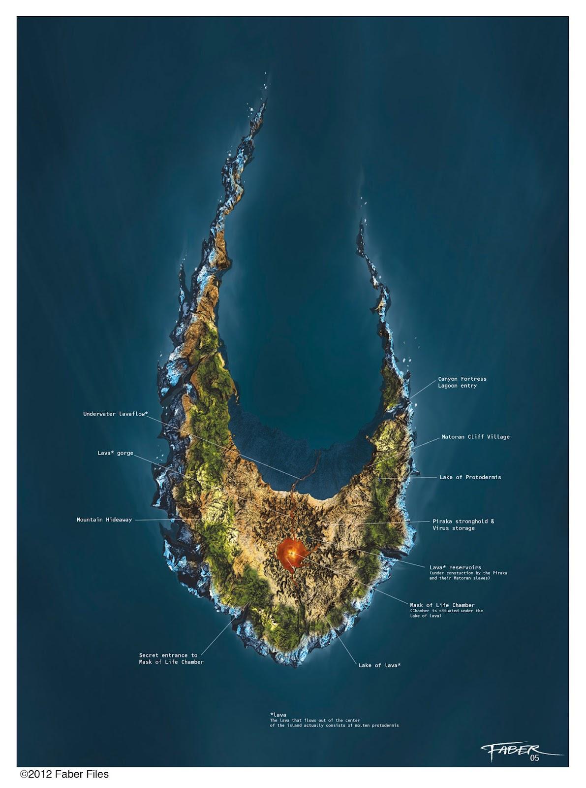 [Culture] Quel est votre lieu préféré dans BIONICLE ? Christian+Faber+Files_Voya+Nui+map