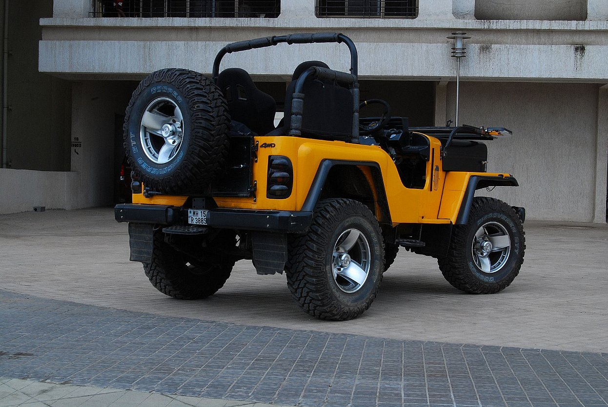 Mahindra Thar Jeep Wallpapers Sports Car Racing Car