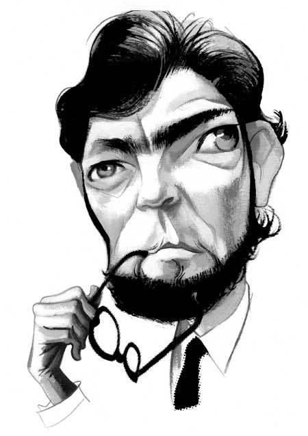 Doctor Ojiplático. Fernando Vicente. Ilustración Editorial