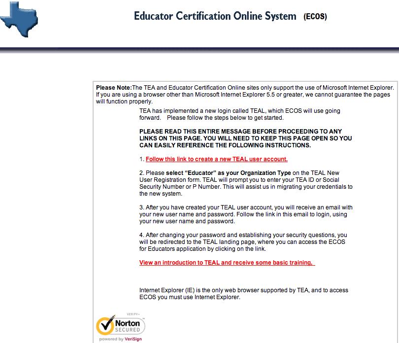 Tea Changes Certificate Renewal Web Site View Tutorial Around