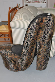 High Heel Chair $50.00