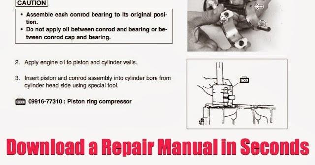 Download Yamaha Atv Repair Manuals Instantly  Download Repair Manual  Yamaha Kodiak Big Bear