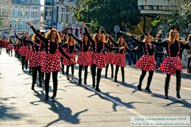 Dječji karneval u Opatiji @ Dječji Karnevalski Korzo, 24.01.2016