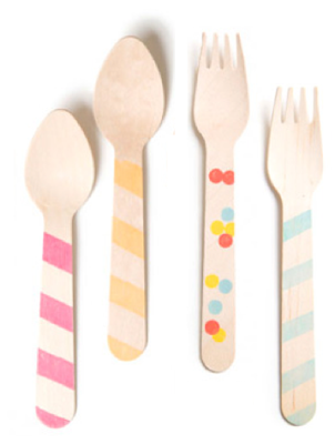 Wooden Utensils from Sucre Shop