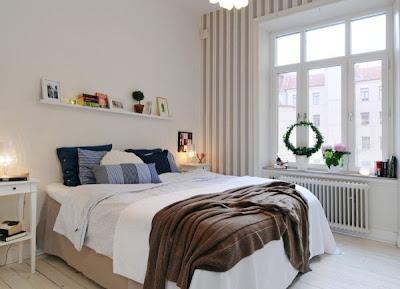decoración nórdica dormitorio