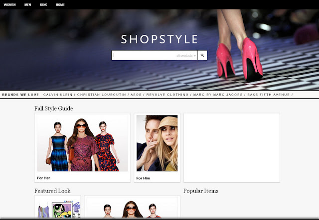 ShopStyle new web design