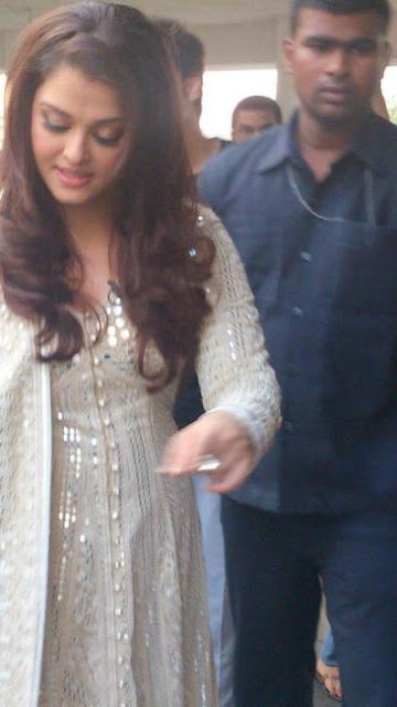 Aishwarya Shooting For Her Interview with David Frost