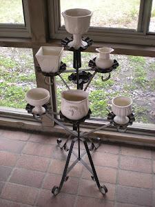 Vintage White Pottery