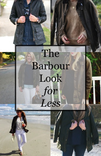 The Barbour Jacket Look for Less